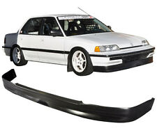 FOR 90-91 HONDA CIVIC HATCHBACK SEDAN CS-STYLE FRONT BUMPER LIP SPOILER 3/4DR PU