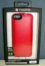 Mophie juice pack hélium 1500mah 80% supplém./schtzhülle iPhone 5/5s/se red