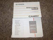 1994 Toyota Camry DX LE SE XLE 2.2L 3.0L V6 Operator User Guide Owner Manual
