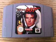 GOLDENEYE 007 PAL N64 NINTENDO 64 JAMES BOND GOLDEN EYE TESTED WORKING RARE!