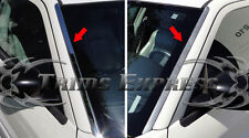 2005-2010 Chrysler 300 300C Front Window Wind Shield Deflector Trim Chrome 2Pc