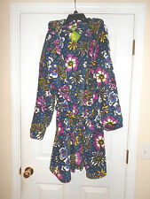 GORGEOUS VERA BRADLEY HOODED ROBE Sz  L-XL AFRICAN VIOLET  SOOO SOFT