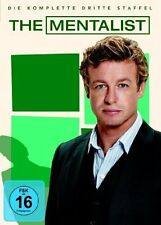 THE MENTALIST (Simon Baker), Staffel 3 (5 DVDs) NEU+OVP