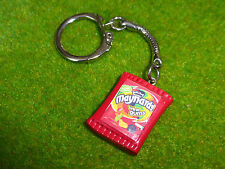 UNIQUE Handmade WINE GUMS KEYRING retro MAYNARDS sweets CANDY tuck shop 80's