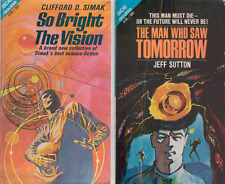 Ace Double - So Bright the Vision by Simak / Man Who Saw Tomorrow by Sutton