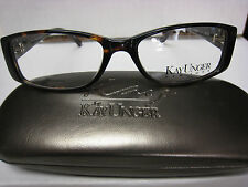 KAY UNGER  EYEGLASSES FRAME K148  TOR  53-16-135  WITH CASE NEW & AUTHENTIC