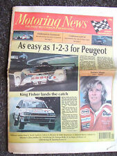 Motoring News 23 June 1993 Le Mans & Donegal Rally Report James Hunt Obituary