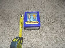 MTV Beavis And Butthead Bendable Mini Figures with 40 Page Mini Quote Inside