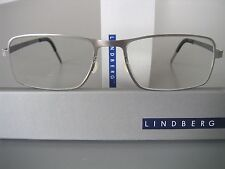 STUNNING LINDBERG AIR STRIP 9504 TITANIUM FRAMES IN GUN-METAL GREY, SZ.135/145