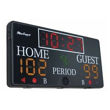 Brand New Electronic Indoor Scoreboard With Remote SK3048