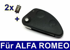 2T Spare Pull key housing for Alfa Romeo 147 TS 156 JTD + 2x Microbuttons