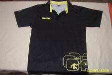 VERY SHARP,MENS,SMALL,AND1,SHIRT, PULLOVER,BLACK & YELLOW, POLO TYPE,POLYESTER