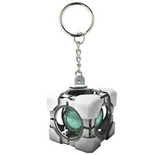 Portal 2 Refracting Box Vinyl Key Chain - Valve Crowded Coop