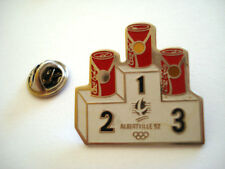 PINS RARE VINTAGE ALBERVILLE 92 JEUX OLYMPIQUES COCA COLA OLYMPIC GAMES wxc 22