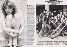 COUPURE DE PRESSE CLIPPING 1979 NADINE EXPERT   (2 pages)