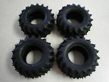 4 PIN SPIKED TIRE Mud Blaster Bush Devil Farm King Dualhunter Tyre Tamiya 50374