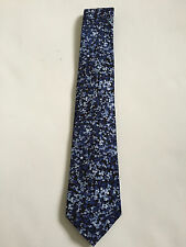 Paul Smith  6cm Blade = Floral Narrow Tie =  100% Silk = Made in Italy