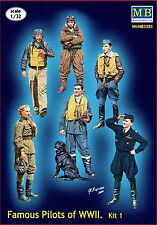 Master Box 3201 Famous pilots of WWII. kit 1 1:32 toy figures