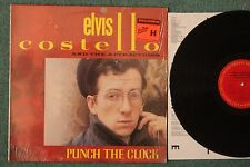 Elvis Costello & The Attractions Punch The Clock NM/NM 1983 Shrink Lyrics