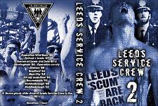 DVD LEEDS SERVICE CREW VOLUME 2 (LEEDS UNITED,OLD SCHOOL,DOCU,LUFC)