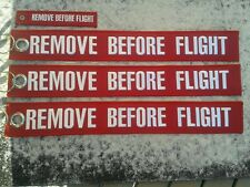 Remove before flight XXXL 4er Set Avion/Aircraft/yakair Aeroporto/aereo