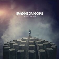 Night Visions by Imagine Dragons CD 2012  Interscope USA Compact Disc New SEALED