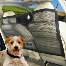Pet Safety Zone Tech Vehicle Travel Pet Dog Car Back Seat Net Mesh Barrier