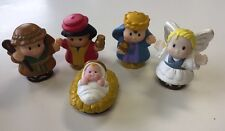Fisher Price Little People Nativity 5 figures replacements Baby Jesus Angel