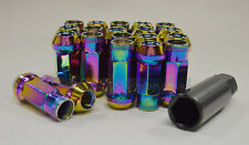 KP48 NEO CHROME Extended Long Steel Wheel Lug Nut 12x1.25 fit Subaru WRX Impreza