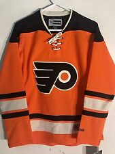 Reebok Women's Premier NHL Jersey Philadelphia Flyers Team Orange Alt sz M
