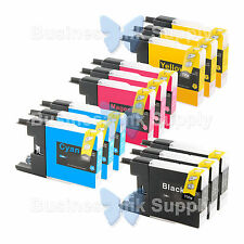12 PACK LC71 LC75 Compatible Ink Cartirdge for BROTHER Printer MFC-J435W LC75