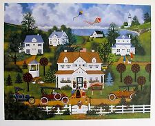 """Jane Wooster Scott """"REMEMBER WHEN"""" Hand Signed Limited Edition Lithograph"""