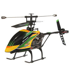 WLtoys V912 Large Single Blades Sky Dancer 4CH RC Helicopter With Gyro BNF Green