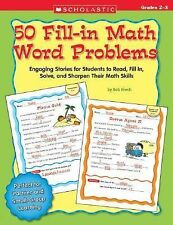 50 Fill-in Math Word Problems: Grades 2-3: 50 Engaging Stories for Students to R