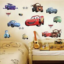Racing Cars Lighting McQueen Wall Decals Sticker Kids Nursery Room Decor Vinyl