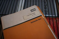 CASE 1102 Roller Compactor Electrical Hydraulic Schematic Manual Repair Service