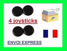 4 PROTECTIONS POUR JOYSTICK MANETTE PS4 BOUTON SILICONE couleur noir x4