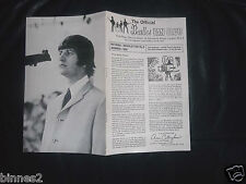 THE BEATLES OFFICIAL UK FAN CLUB NEWSLETTER SUMMER 1965 BOOKLET 12 PAGES AWESOME