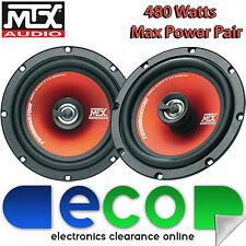RENAULT Megane Classic MTX 16 cm 6,5 pouces 480 watts 2 voie haut-parleurs de porte avant voiture