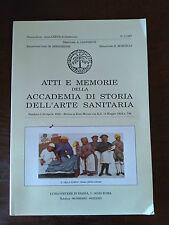 ATTI E MEMORIE DELLA ACCADEMIA DI STORIA DELL'ARTE SANITARIA 1/1997 Notiziario