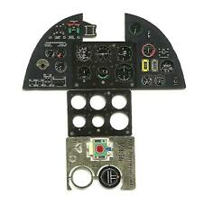 HURRICANE MK.I  PE COLORED INSTRUMENT PANEL TO AIRFIX & TRUMPETER#2401 1/24 YAHU
