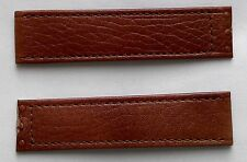New IWC brown genuine leather strap band 16-16 mm for deployment clasp