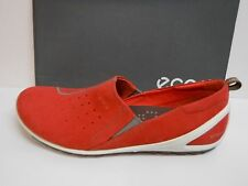 Ecco Size Eur 38 US 7 7.5 Coral Leather Loafers New Womens Shoes