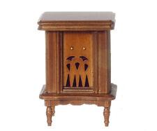Dollhouse Miniature Radio 1940s Vintage Style Wood Minis 1:12