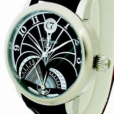 FLY-BACK RETROGRADE GMT (2nd Time Zone)DATE Unisex A1244