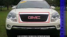 GTG, 2007 - 2012 GMC ACADIA MAIN 1pc BLACK UPPER BILLET GRILLE KIT