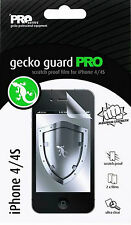 2 x Gecko Guard PRO Scratch Proof Film for iPhone 4/4S Screen Protector