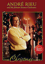 ANDRE RIEU - THE CHRISTMAS I LOVE - DVD - FREE AND FAST DELIVERY