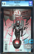AGE OF ULTRON #1 - KIM VARIANT 1:25 - CERTIFIED CGC 9.8 - MARVEL - AVENGERS
