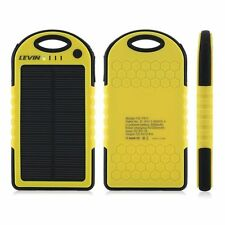 Solar Power Phone Charger iPhone iPod Android iPads Windows Portable Outdoor New